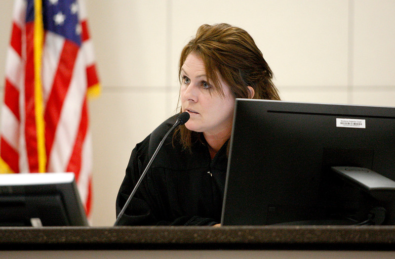 Tami Huntsman in Court