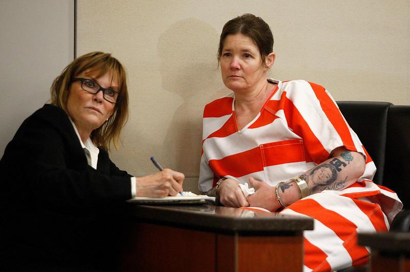 Tami Huntsman in Court