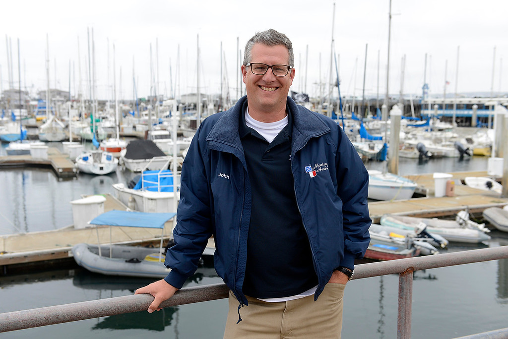 . Monterey Harbormaster John Haynes on Monday, May 21, 2018.  (Vern Fisher - Monterey Herald)
