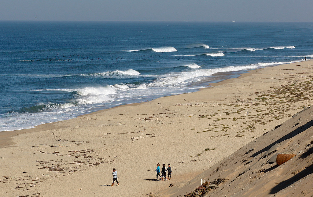 . Marina State Beach on Friday, November 8, 2018.  (Vern Fisher - Monterey Herald)