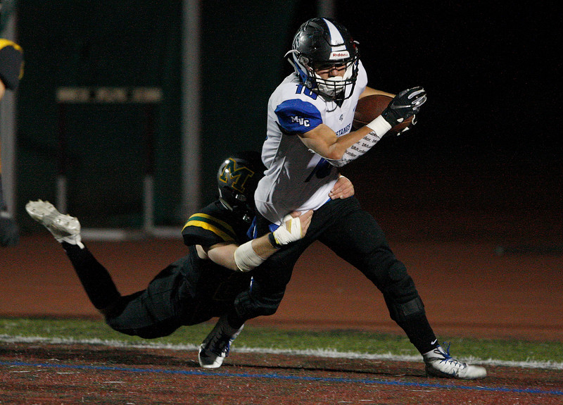 Monterey vs. Monte Vista Christian, CCS DV Football