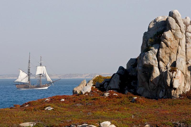 Tall Ship Lady Washington in Monterey