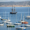 Tall Ship Lady Washington in Monterey