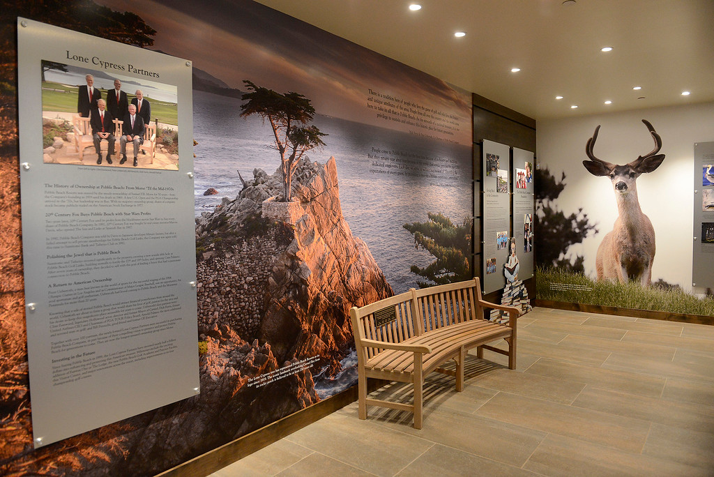 . The Pebble Beach Visitor Center on Tuesday, November 13, 2018.  (Vern Fisher - Monterey Herald)