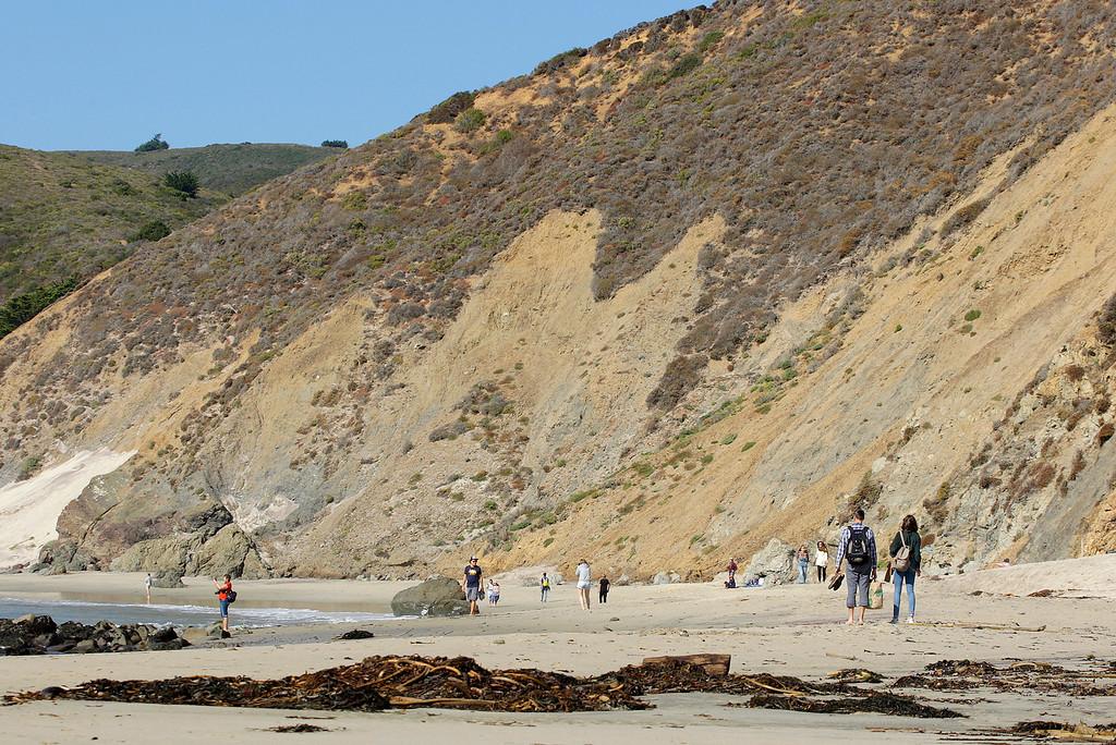 . Pfeiffer Beach in Big Sur on Wednesday, Nov. 1, 2017.  (Vern Fisher - Monterey Herald)