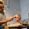 Sculptor Yves Goyatton
