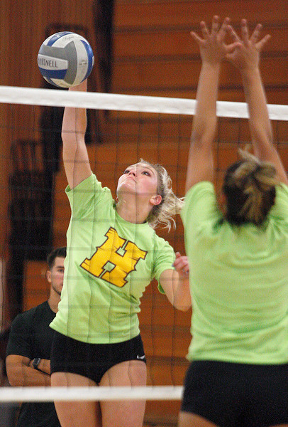 Sam Shaffer, Hartnell Volleyball