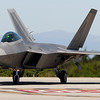 USAF F-22 Raptor in Monterey