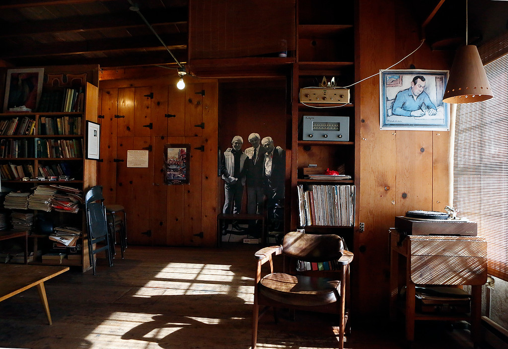 . The front room inside Doc Ricketts Lab in Monterey on Monday September 25, 2017. Frank Wright, the last living member of Doc Ricketts Lab Club recently passed away. (David Royal/Herald Correspondent)