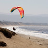 Para-sailing at Marina State Beach