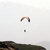 Paraglider at Marina Beach