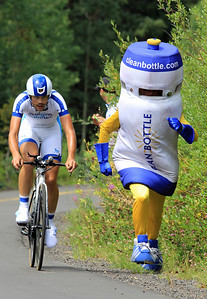 Bottle Boy @ the Vail TT, 2013 US Pro Cycling Challenge
