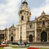 Government Palace at the Plaza de Armas, Lima , Peru