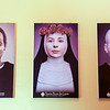 Paintings displayed at Santo Domingo church, Lima.