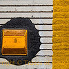 Title:  Sunny Side Up<br /> <br /> Comments:  This highway reflector looks a bit like an egg. <br /> <br /> Location:  Anywhere