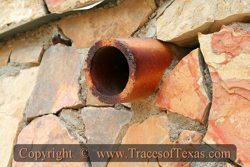 Title:   How We Drain Our Roofs In West Texas<br /> <br /> Comments: <br /> <br /> Location: Big Bend National Park