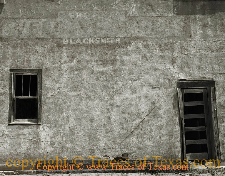 Title:   Levelland Lullaby<br /> <br /> Comments: I would loved to have photographed this blacksmith shop when it was still in operation. <br /> <br /> Location: Levelland, Texas