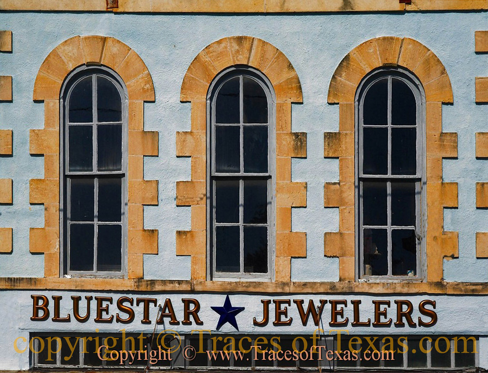 Title:   Because Diamonds are Forever<br /> <br /> Comments: Bluestar Jewelers in Lampasas is in a classic, old, small town Texas building and has an oustanding reputation.  Stop in if you're ever in the neighborhood. <br /> <br /> Location: Lampasas, Texas