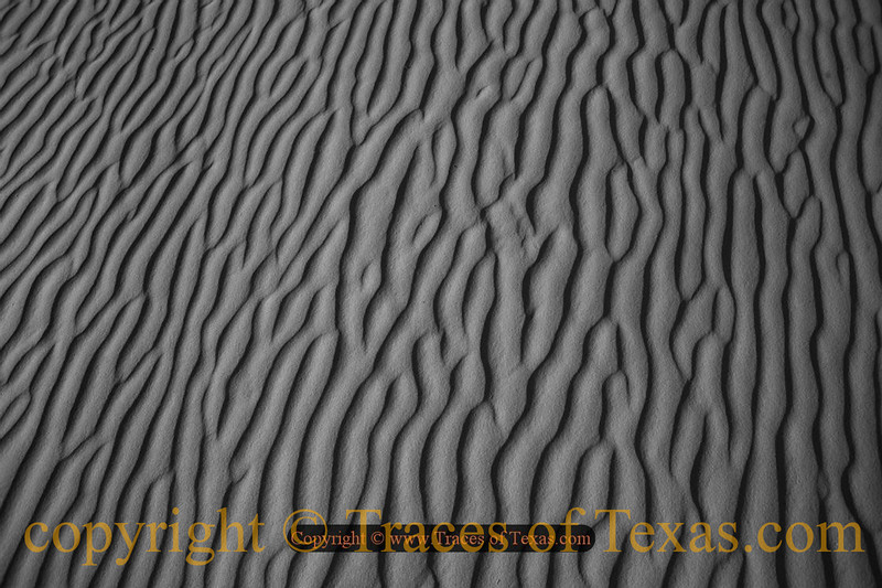 Title:  Hello Cowgirl in the Sand<br /> <br /> Comments: Abstract pattern in the sand.  Is it any wonder why Monahans is my favorite state park?<br /> <br /> Location: Monahans, Texas