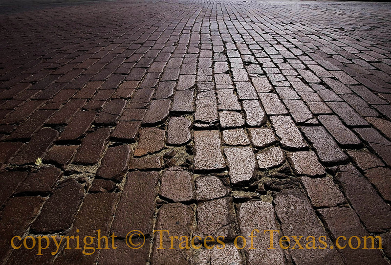 Title:   The Mean Streets of Lubbock<br /> <br /> Comments: Paris has cobblestones. So what? We have Waxahachie bricks. <br /> <br /> Location: Lubbock, Texas