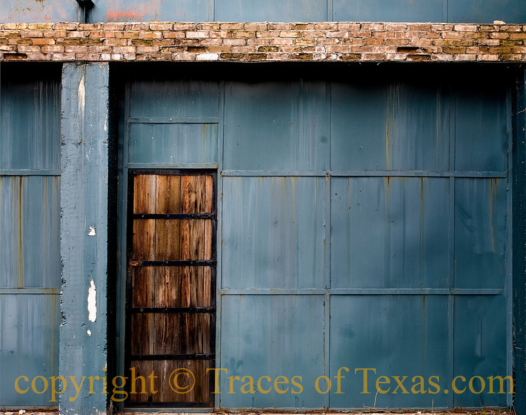 Title:  Where They Found the Body<br /> <br /> Comments: It was right through this door. <br /> <br /> Location: Seguin