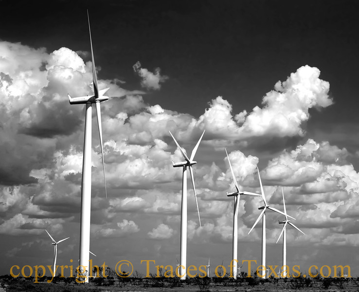 Title:   This is NOT your father's Texas panhandle!<br /> <br /> Comments: B&W version<br /> <br /> Location: Mcadoo, Texas