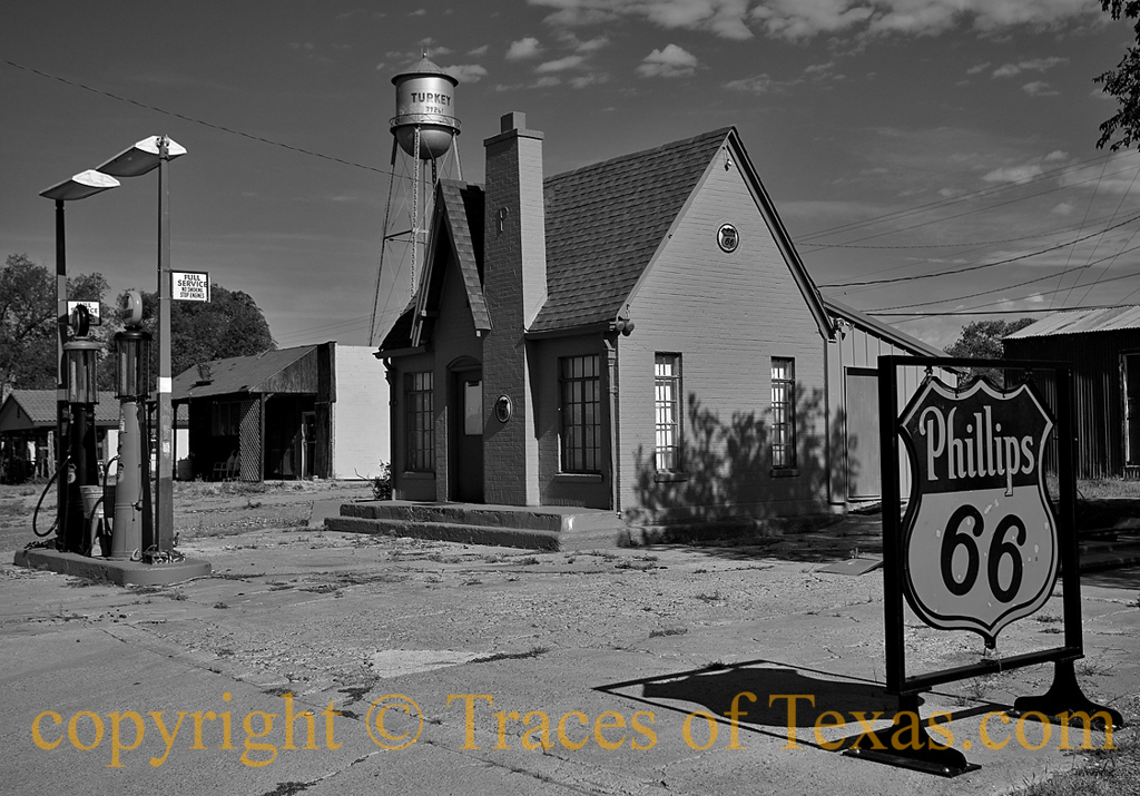 Turkeytown in Black and White