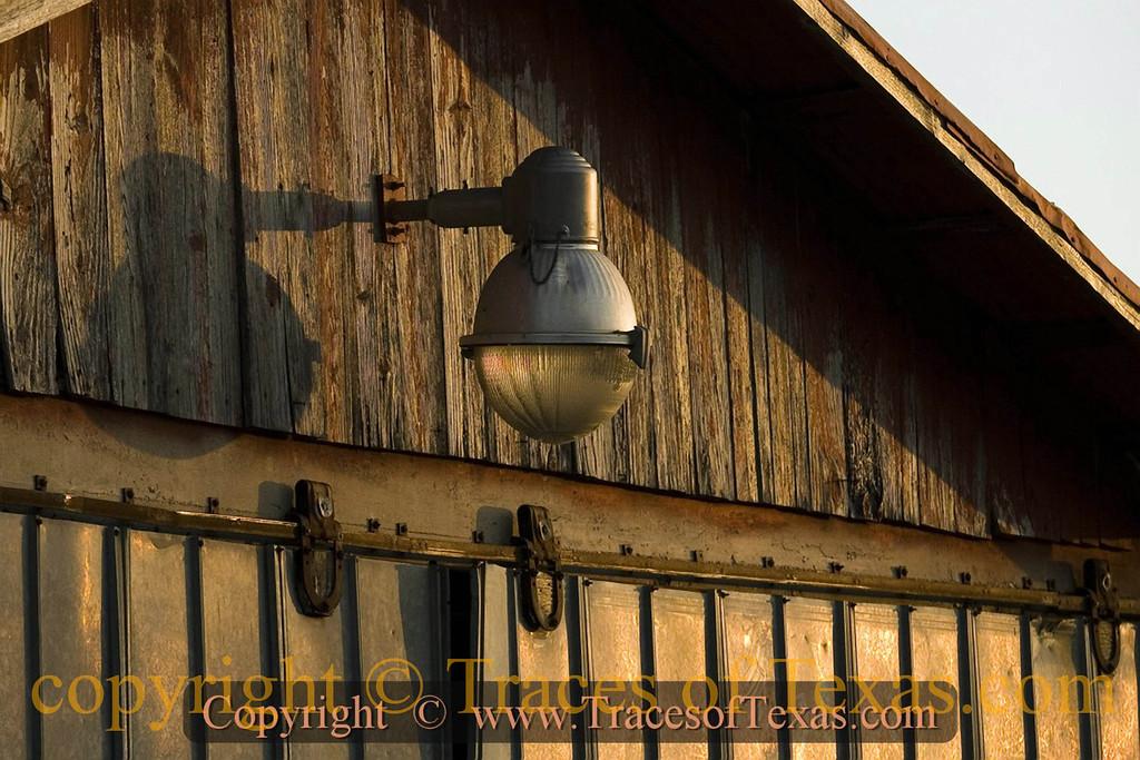 Title:   Barn Light<br /> <br /> Comments: Sunset on a random barn light<br /> <br /> Location: Rock Springs, Texas