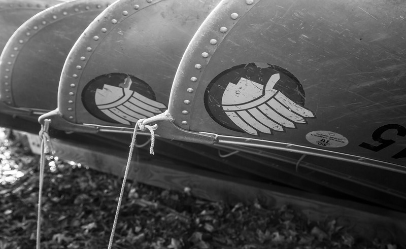 Canoes for park paddlers