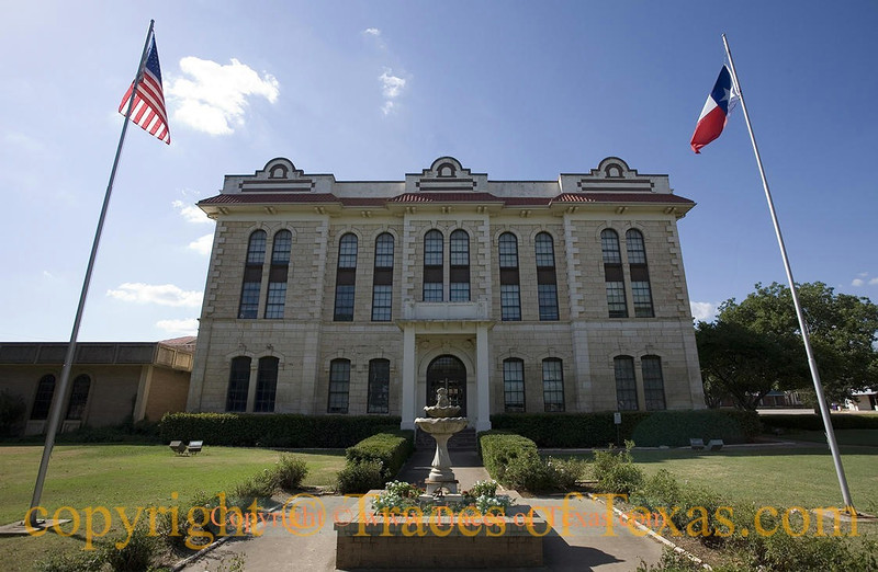 Title:   Robertson County Courthouse 1<br /> <br /> Comments:  Not as fancy as some but much nicer than many. <br /> <br /> Location: Franklin