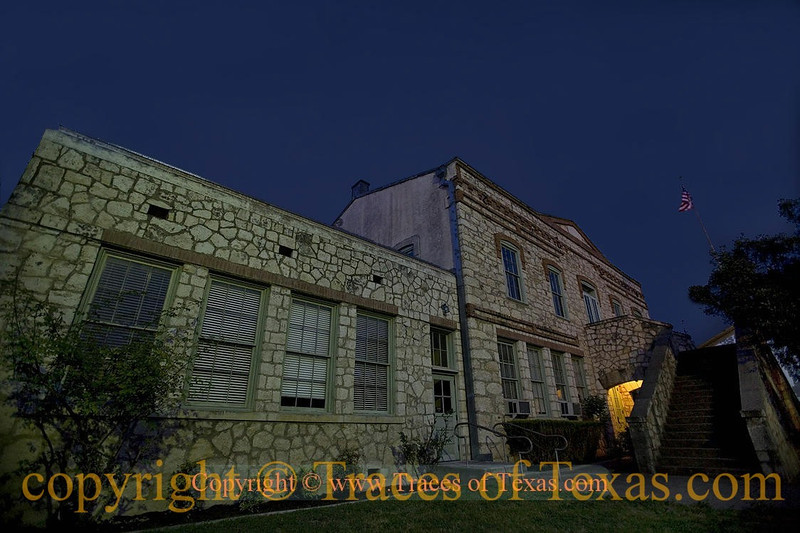 Title:  Rocks of Ages<br /> <br /> Comments: The former Medina County Courthouse in Castroville was built in 1859 and is still in use today.  It is one of the oldest standing structures in the state. <br /> <br /> Location: Castroville, Texas