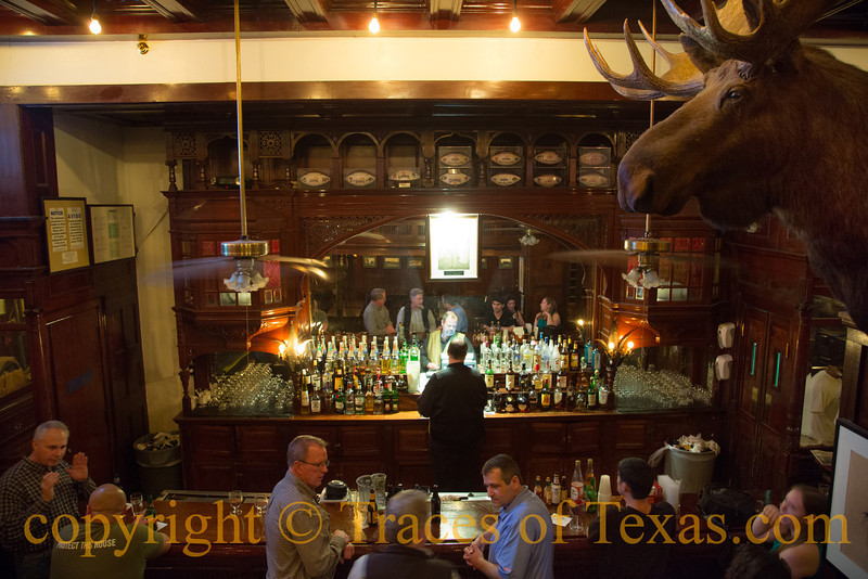 Title: I Have Extracted More from Alcohol than Alcohol has Ever Extracted from Me<br /> <br /> Comments: The bar in the Menger Hotel is one of the world's truly great watering holes. Teddy Roosevelt rounded up Rough Riders in this bar.  <br /> <br /> Place: San Antonio