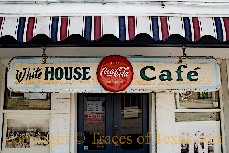 Title: Sign of the Rhymes<br /> <br /> Comments: I wrote a poem while waiting for the White House Cafe to open. One day I will send it to you. <br /> <br /> Location: Floresville