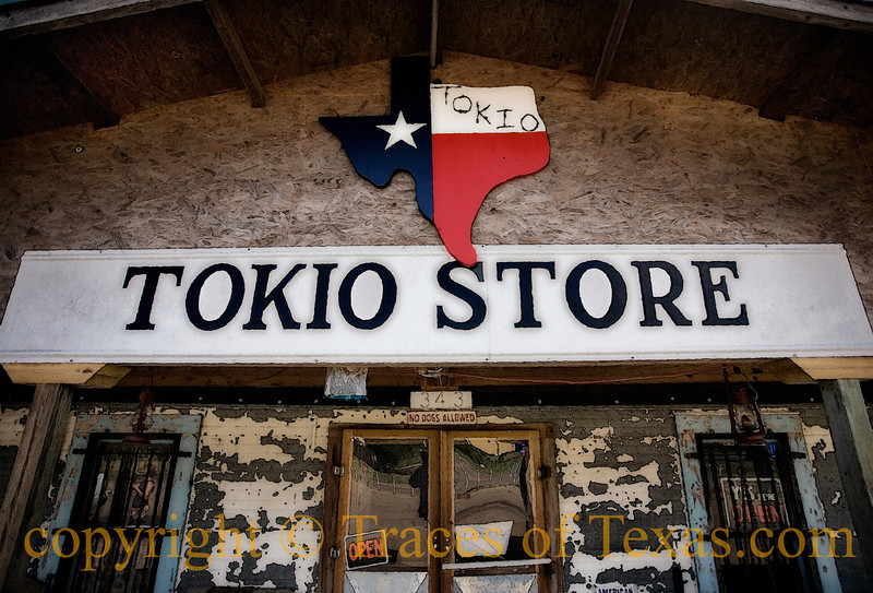"Title: Step Back<br /> <br /> Comments: The Tokio Store is the kind of place that you can't believe exists anymore.  And I believe that ""No Dogs Allowed""  sign is not really enforced.<br /> <br /> Location: Tokio"