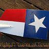Title:   Lone Star<br /> <br /> Comments: You gotta respect a man who loves Texas so much that he has his rowing oars made to look like the Texas flag. <br /> <br /> Location: Austin