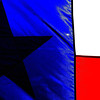 Title: Lone Star State of Mind  <br /> <br /> Comments: Is this not the most beautiful pattern in the world?  :)<br /> <br /> Location: Heidenheimer