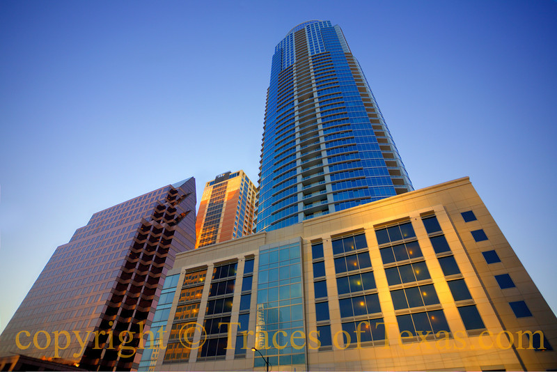 Austonian building (for Austonian) downtown Austin