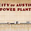Austin .... the old power plant downtown. Art Deco lettering.