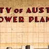 Austin ... the old power plant downtown. Art Deco lettering.