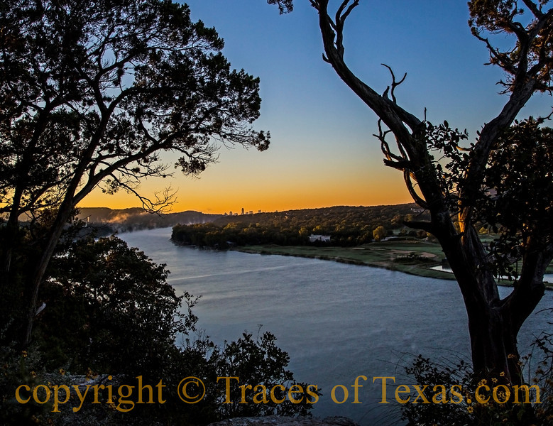 Title:  Austin on My Horizon<br /> <br /> Comments:  The sun rising behind a sleeping downtown Austin.  I felt humbled to be here on this morning, no doubt!<br /> <br /> Location: Austin