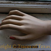 Title:   Can You Lend Me a Hand?<br /> <br /> Comments: Attic discovery<br /> <br /> Location: Belton
