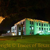 Title:  Anahuac County Courthouse at Night<br /> <br /> Comments:<br /> <br /> Location:  Anahuac