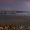 Title:   Pastel Pier<br /> <br /> Comments: Every morning along the sand is like Christmas morning. You never know what the ocean might have begifted you with the previous night.<br /> <br /> Location: Port Aransas, Texas