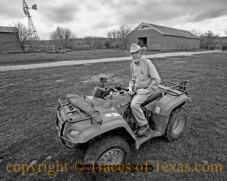 Title:   Hog Hunting<br /> <br /> Comments: This ranch foreman has a huge problem with wild hogs destroying his property. Because they have become such a huge nuisance here in Texas and because they are not native to the state, there is a 365 day, 24/7 hunting season.  <br /> <br /> Location: Bend, Texas