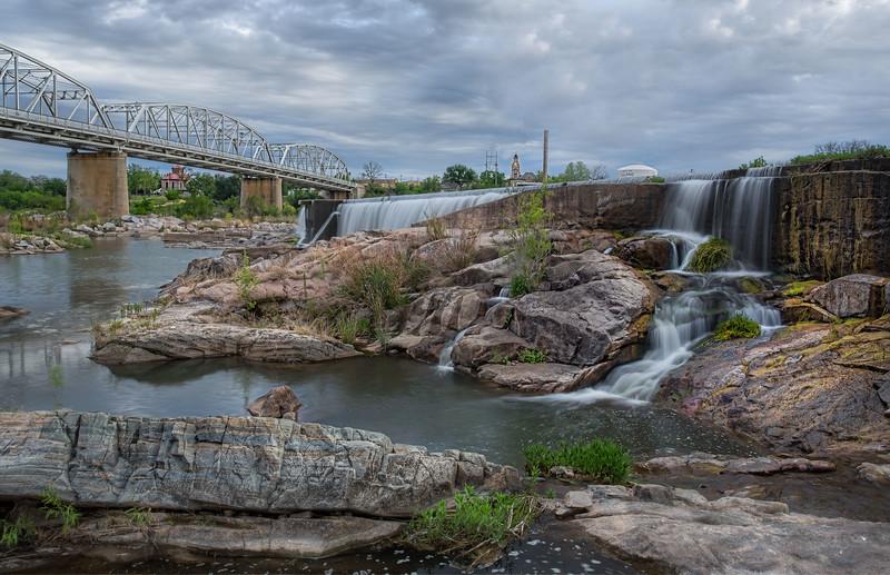 Llano River in Llano, TX