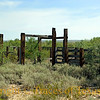 Title: Not an Okay Corral<br /> <br /> Comments: The desert swallows up everything in its path. <br /> <br /> Location: West Texas