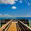 Title: She is Out Standing Among Her Piers<br /> <br /> Comments: I caught a huge redfish here.  It was a talking redfish and the park rangers told me that it is the only fish that has ever been caught from this pier. Or maybe I dreamed all that. <br /> <br /> Location: Aransas National Wildlife Refuge