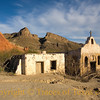 Title:   Along the Rio Grande <br /> <br /> Comments: Two years after I took this photo, the church and parsonage were heavily damaged when the Rio Grande flooded.  <br /> <br /> Location: Big Bend State Park