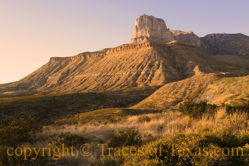 Title: I Was Standing Next to a Mountain <br /> <br /> Comments:  Caption: I sat on a chair in the bed of Old Blue and felt myself unbend and <br /> <br /> Location: Guadalupe Mountains