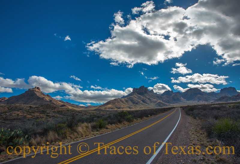 Title: Big Blue<br /> <br /> Comments: Did you ever look down a road and know that whatever lies at the end of it will send your spirit soaring?  <br /> <br /> Location:  Big Bend National Park